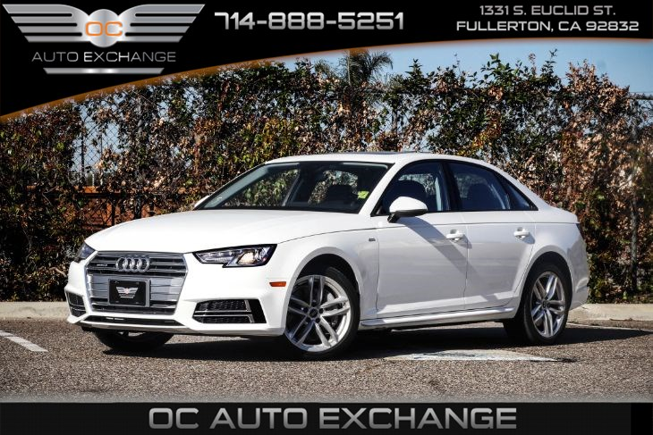 2017 Audi A4 Sedan 2.0T Quattro (Navigation & Bluetooth)