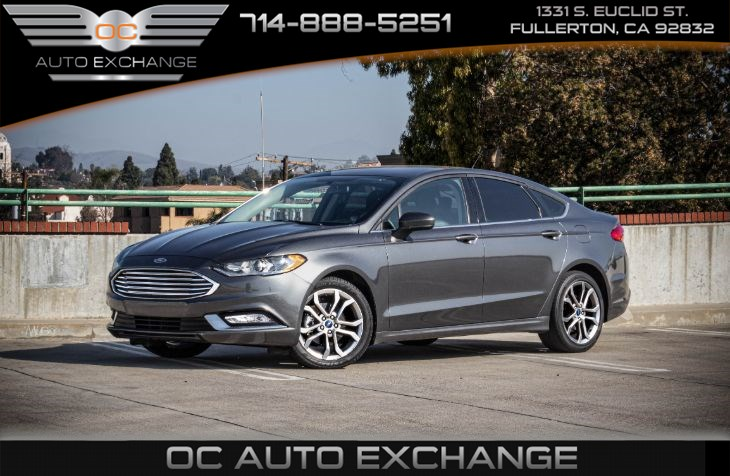 2017 Ford Fusion S (Equipment PKG & Rearview Camera)