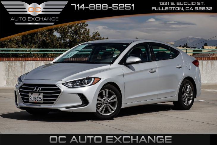 2018 Hyundai Elantra SEL (Rearview Camera & Bluetooth)