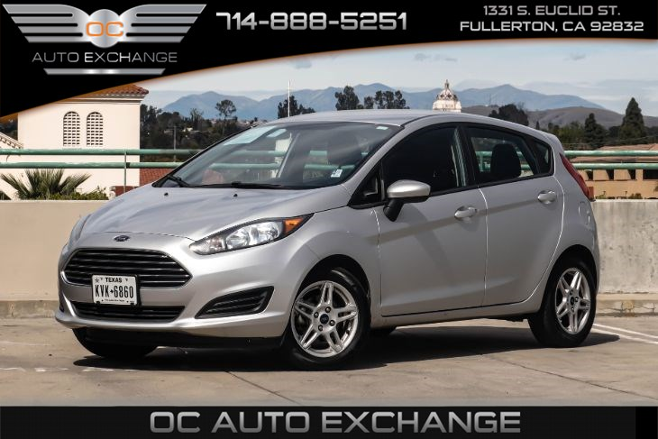 2018 Ford Fiesta SE (Rearview Camera & Hill Start Assist)
