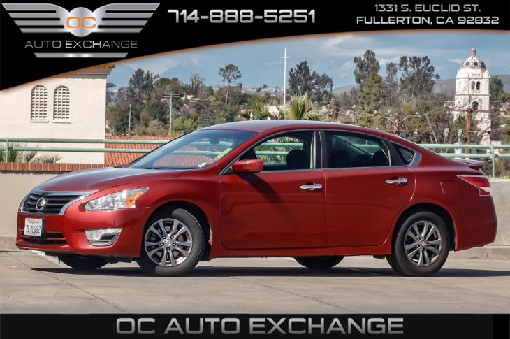 Sold 2015 Nissan Altima 2 5 S Special Edition Pkg Bluetooth In Fullerton