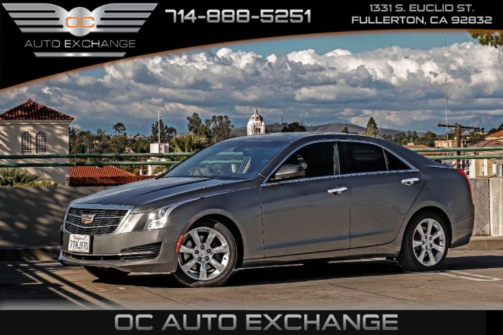 2016 Cadillac ATS Sedan Standard RWD (Sunroof & Navigation)