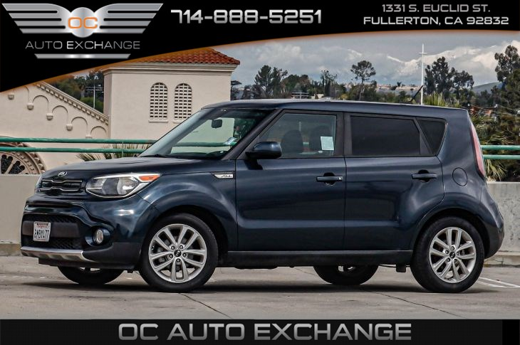 2017 Kia Soul +Auto (Bluetooth Wireless & Rearview Camera)