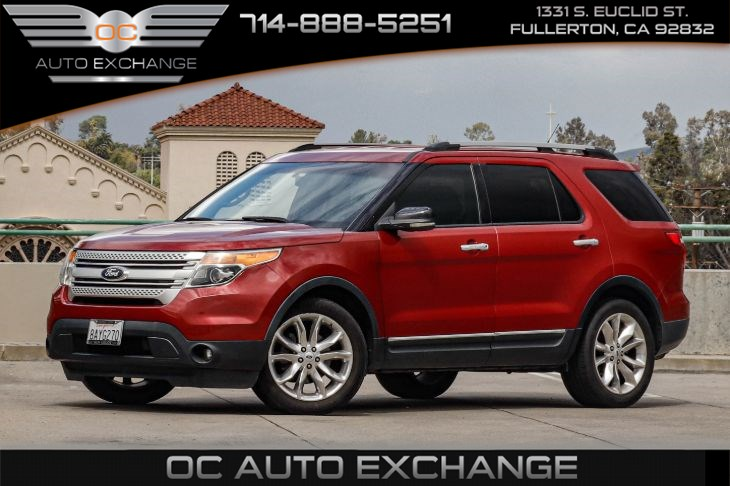 sold 2012 ford explorer xlt fwd reverse sensing system rearview camera in fullerton oc auto exchange