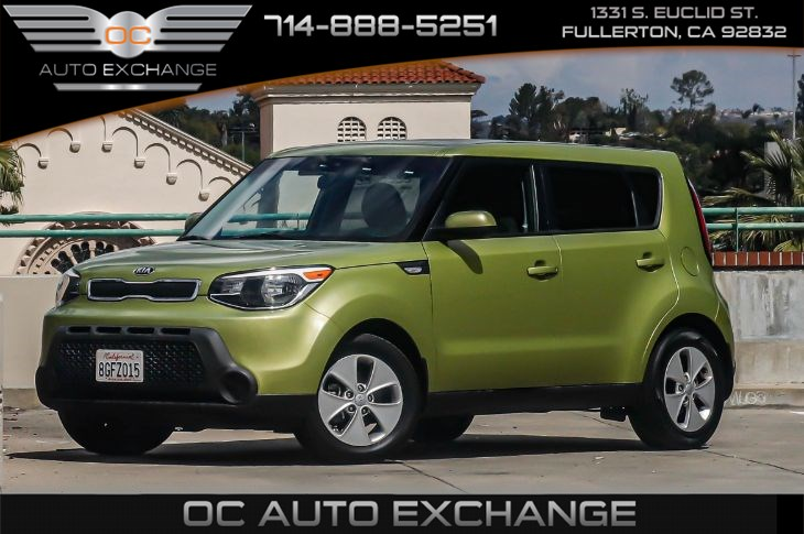 2014 Kia Soul Wgn 5dr Auto Base (Bluetooth & Integrated Antenna)