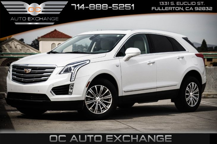 2017 Cadillac XT5 Luxury FWD (Driver Awareness Package, Sunroof)