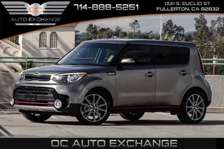 2017 Kia Soul ! (Push Button Start, Cruise Control)