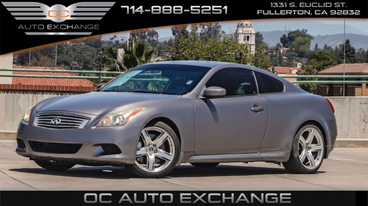 2008 INFINITI G37 Coupe Journey (Heated Seats, Navigation, Back Up Camera)