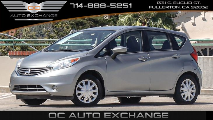 2015 Nissan Versa Note 5dr HB S Plus ( Steering Wheel Controls, Bluetooth)