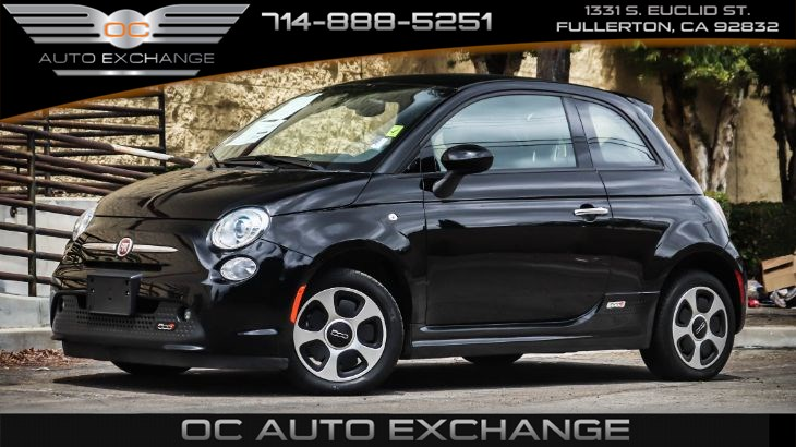 2017 FIAT 500e (Bluetooth, GPS Navigation)