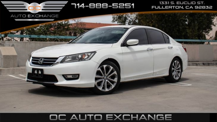 2013 Honda Accord Sdn Sport(ECO mode, CVT, BT)