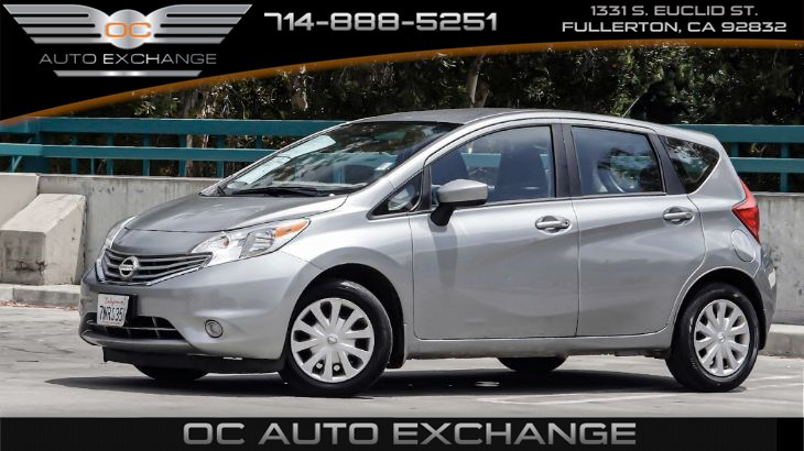 2015 Nissan Versa Note 5dr HB SV (Steering wheel options, Bluetooth)