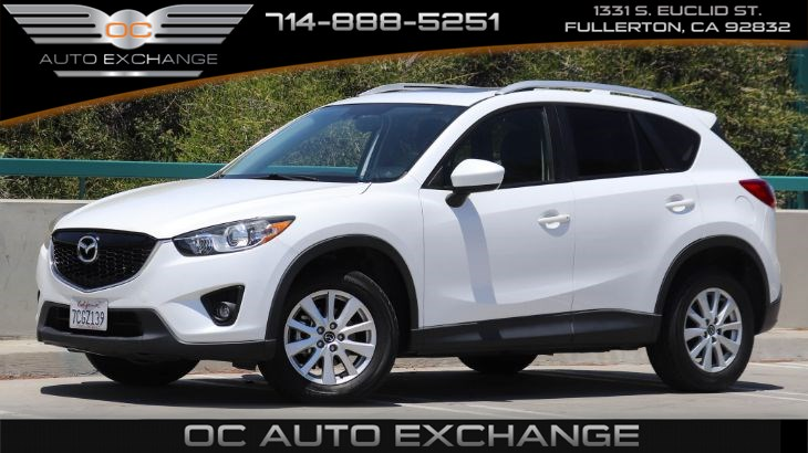 2013 Mazda CX-5 FWD 4dr Auto Touring (Push Button Start, Back Up Cam, Navi)