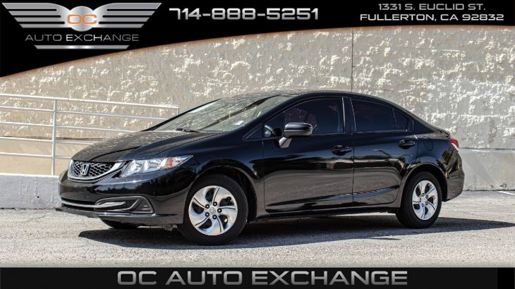 2015 Honda Civic Sedan LX(ECO mode, Bluetooth, Backup camera)