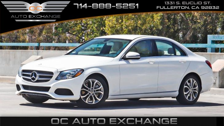 2017 Mercedes-Benz C 300 Sedan(Rear view camera, Push button start, BT)