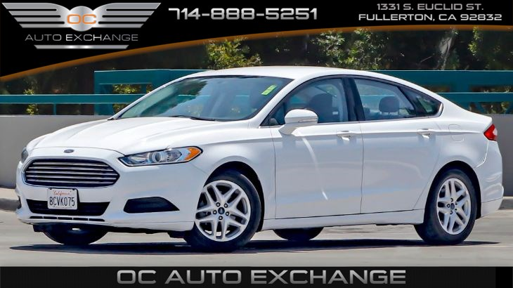 2015 Ford Fusion SE (Rerview Cam, Climate Control, Spotter Mirrors)