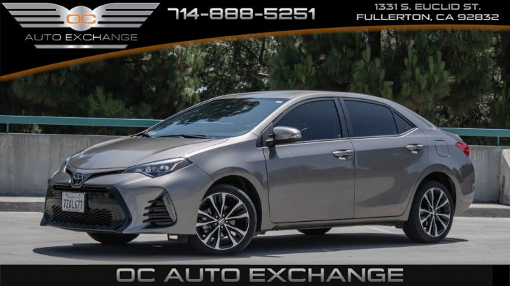 2017 Toyota Corolla SE(CVT, Backup camera, Bluetooth )