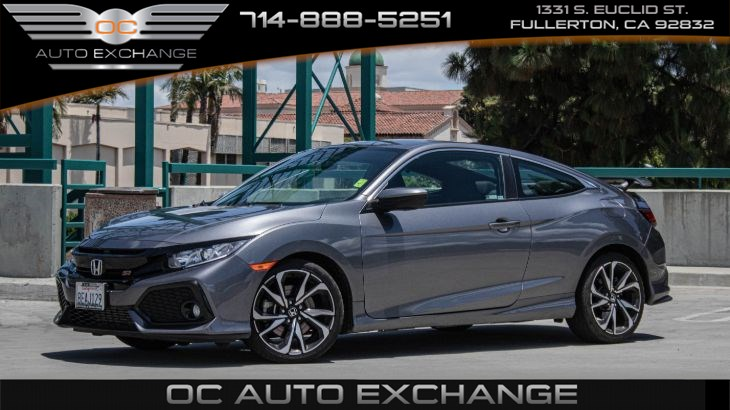 2018 Honda Civic Si Coupe (Lane Watch, Back Up Cam, Cruise Control)