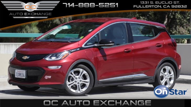 2017 Chevrolet Bolt EV 5dr HB LT (Push Button Start, Rear Park Assist, BT)