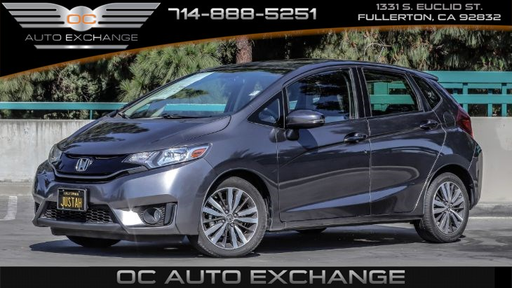 2017 Honda Fit EX-L(Push button start, Rearview camera, ECO)