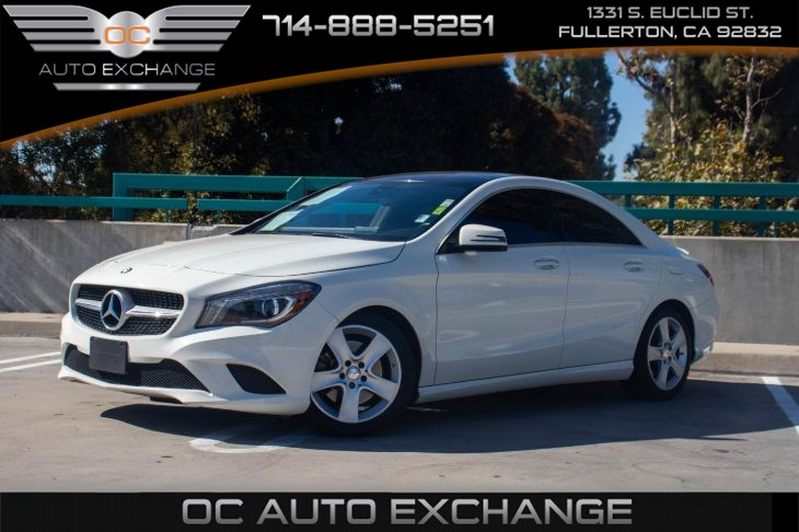 2016 Mercedes-Benz CLA 250 Coupe (PANORAMA SUNROOF & BACK UP CAMERA)