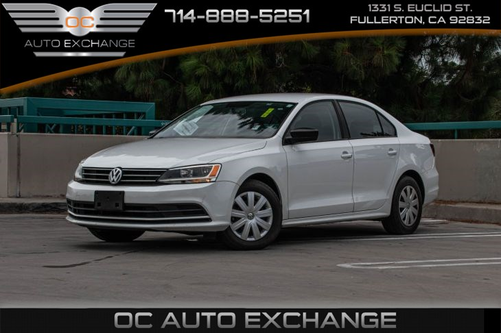 2016 Volkswagen Jetta Sedan 1.4T S w/Technology(TURBOCHARGED & BLUETOOTH)