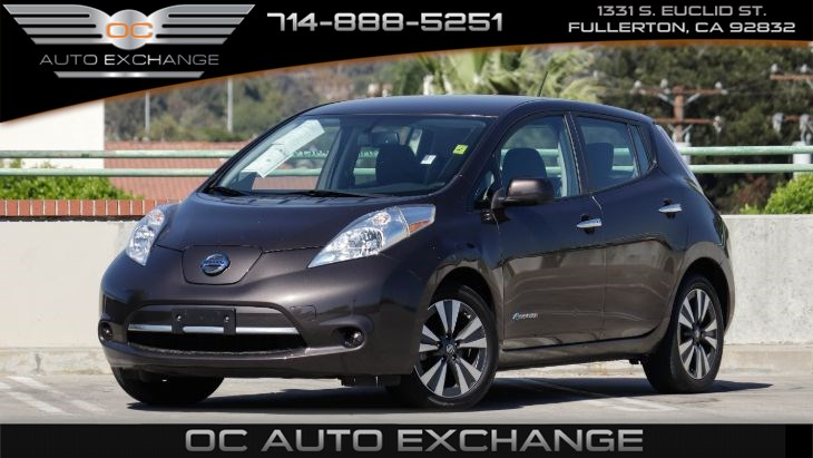 2016 Nissan LEAF SV (BACK UP CAMERA & BLUETOOTH)