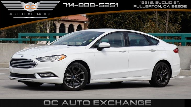 2018 Ford Fusion 5-Passenger S (Back Up Camera, Bluetooth, Keyless Start)