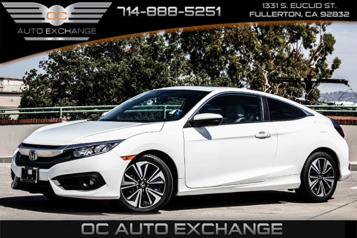2016 Honda Civic Coupe 2dr EX-T (Honda LaneWatch, Back Up Cam, keyless start)
