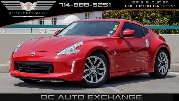 2014 Nissan 370Z 2dr Cpe (Rear view mirror back up cam, keyless start)