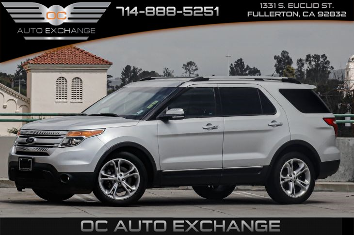 2013 Ford Explorer Limited (12-SPEAKER SONY AUDIO SYSTEM & KEY START)