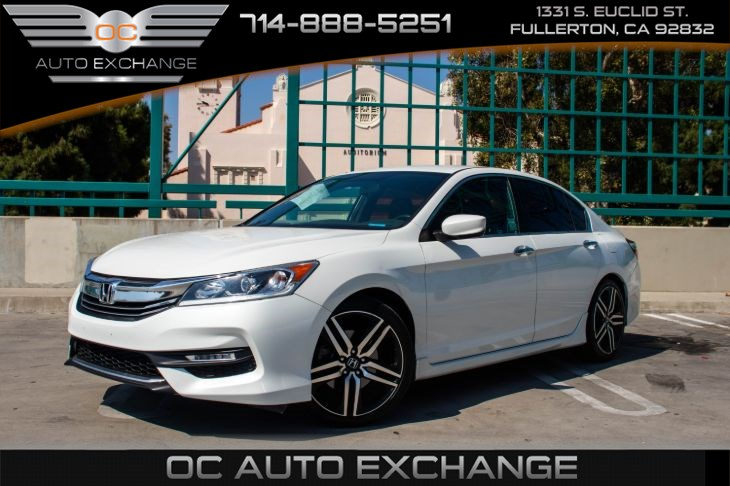 2017 Honda Accord Sedan Sport (BACK UP CAM & BLUETOOTH)