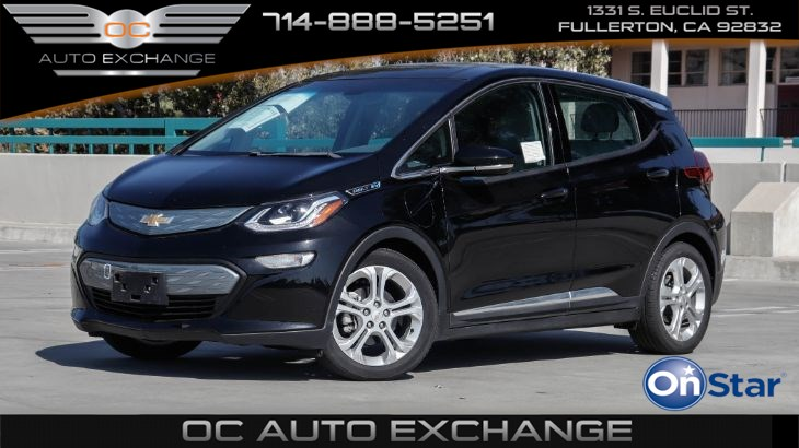 2017 Chevrolet Bolt EV HB LT (Back Up Cam, Push Button Start, Bt)