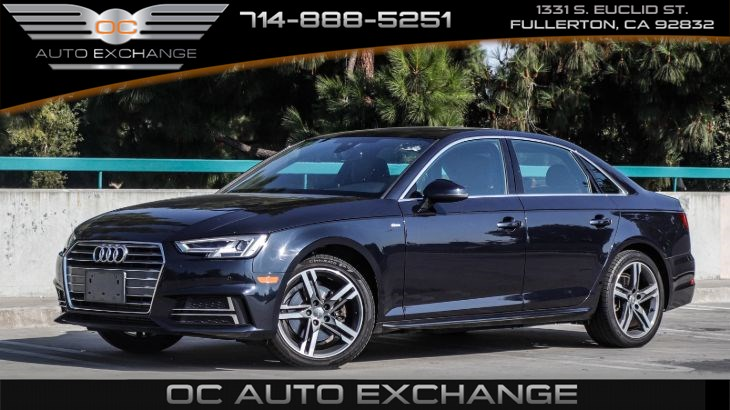 2017 Audi A4 Sedan 2.0T ultra FWD tronic (keyless start, back up cam, nav)