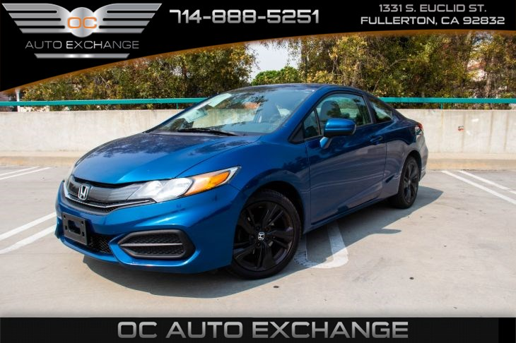 2015 Honda Civic Coupe EX (Bluetooth & Back Up Camera)