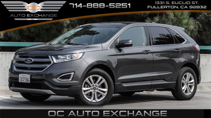 2016 Ford Edge SEL FWD (Back Up Cam, Navi, Pano roof)