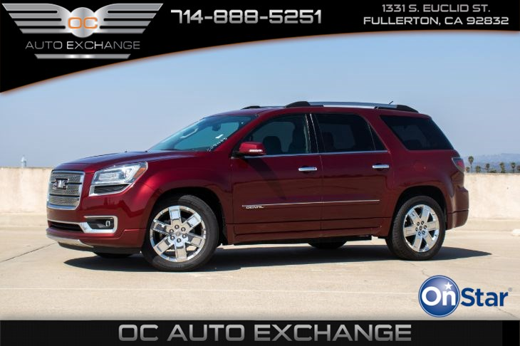 2015 GMC Acadia Denali (BACK UP CAMERA & BLUETOOTH)