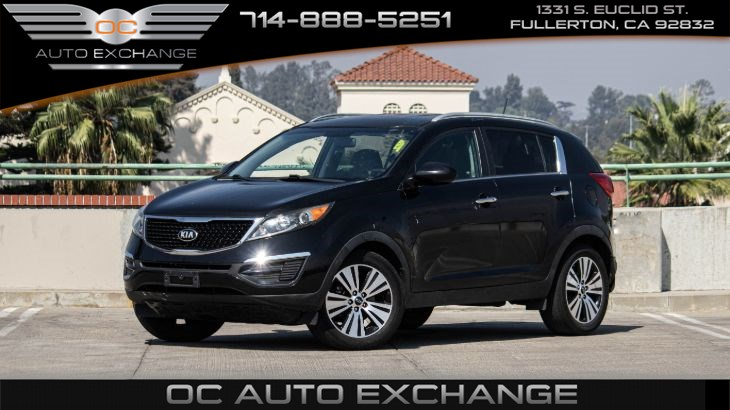 2016 Kia Sportage  FWD 4dr EX (Back Up Cam, Cruise Control, Bt )