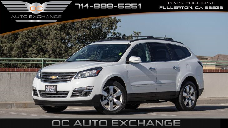 2017 Chevrolet Traverse FWD 4dr Premier (Pano Roof, Navi, Rear view cam)