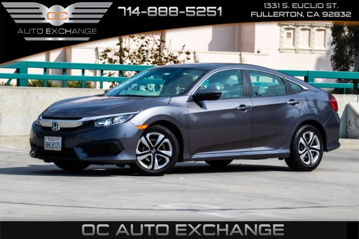 2016 Honda Civic Sedan LX (ECO MODE & BACK UP CAMERA)