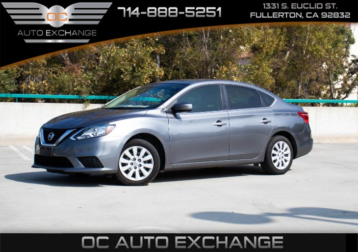 2017 Nissan Sentra SV (Push Button Start, Back Up Camera, Bt)