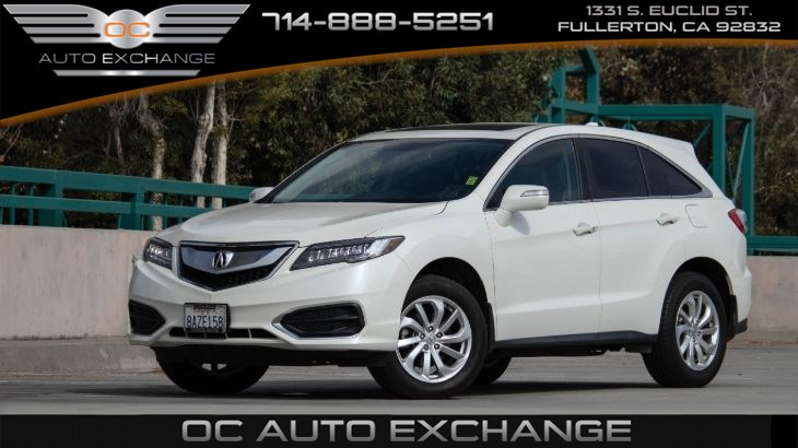 2018 Acura RDX FWD (Navigation, Back Up Camera, Sunroof)