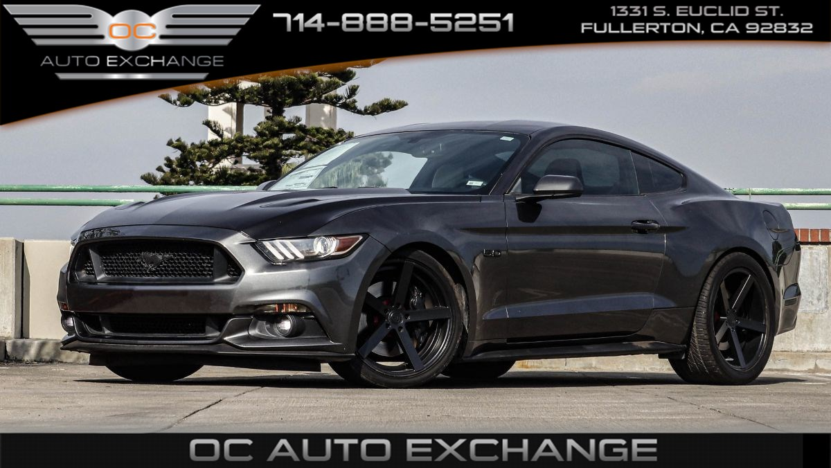 2015 Ford Mustang Coupe GT (Push Button Start, Back Up Cam, Bt)