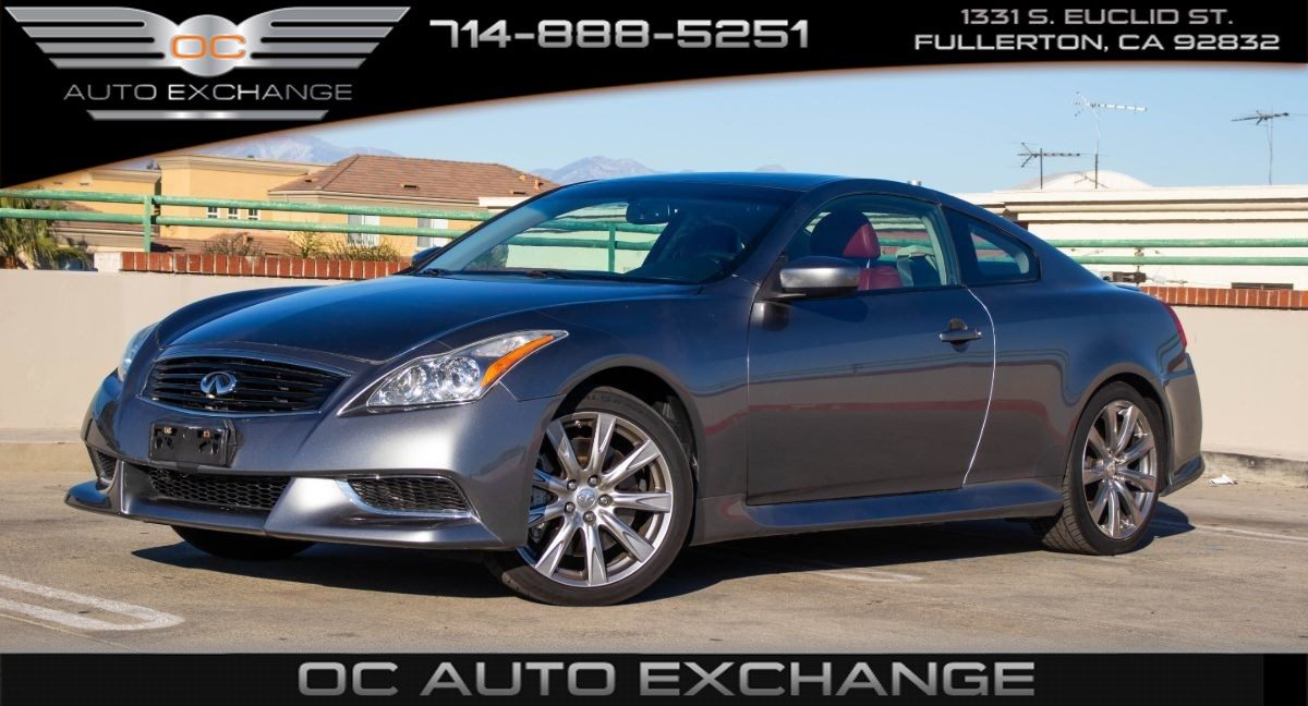 Sold 2010 Infiniti G37 Coupe Anniversary Edition Red Leather Seats Navi Bt In Fullerton