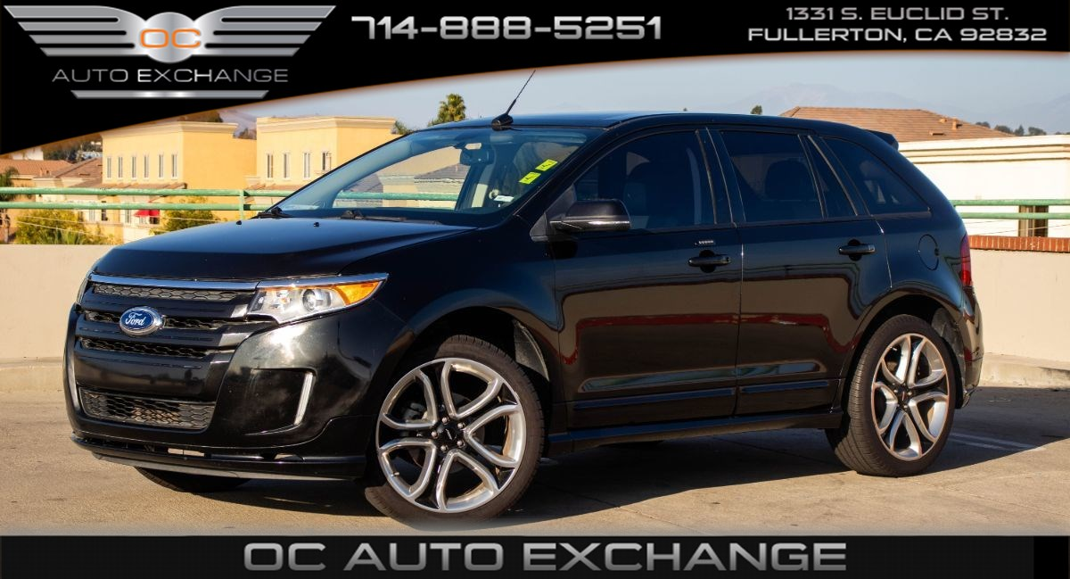 2014 Ford Edge Sport FWD (Navigation, Blind Spot, Panoramic Roof)