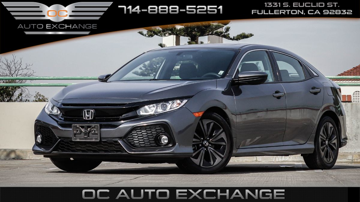 2018 Honda Civic Hatchback EX (LaneWatch, Rear View Cam, Sunroof)