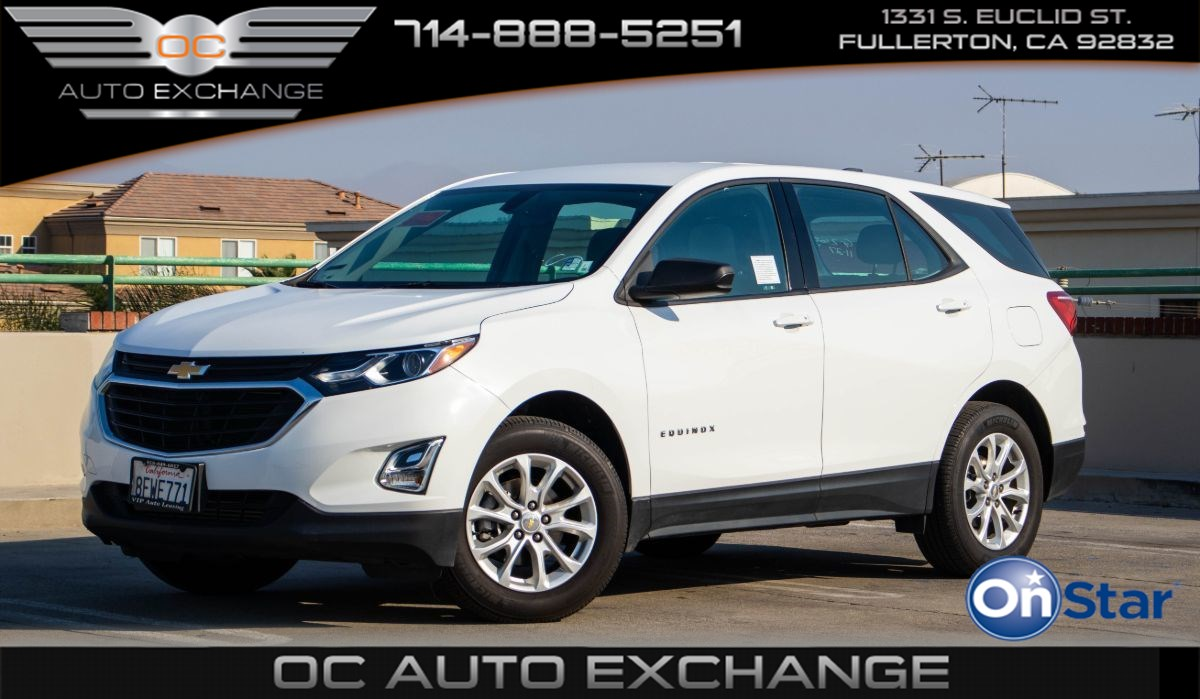 2019 Chevrolet Equinox LS W/1LS (Push Button Start, Rearview Cam, OnStar)