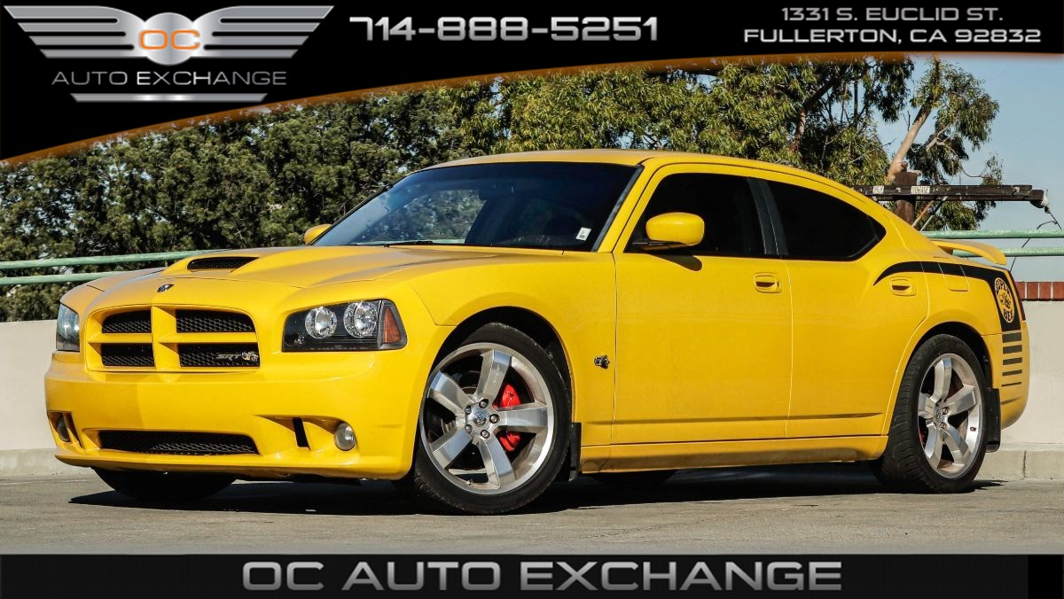 2007 Dodge Charger RWD Super Bee Special Edition SRT8 (Heated Seats, Nav)
