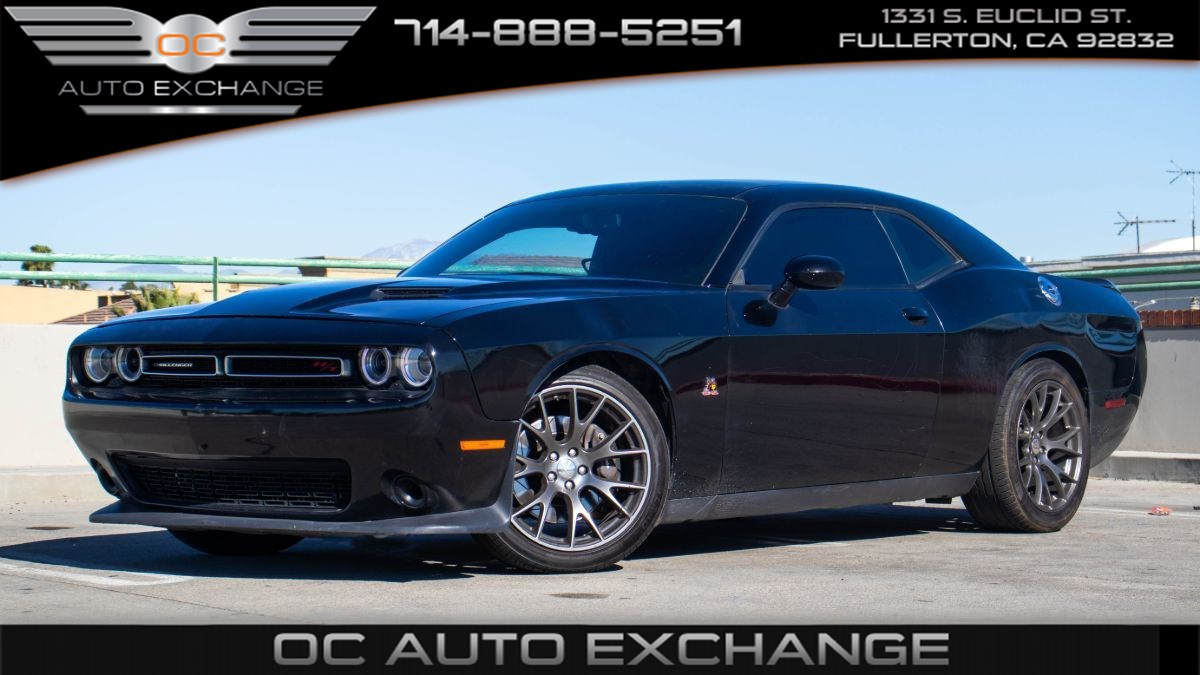 2017 Dodge Challenger R/T Scat Pack (Sport Mode, Bluetooth, 8 Speed)