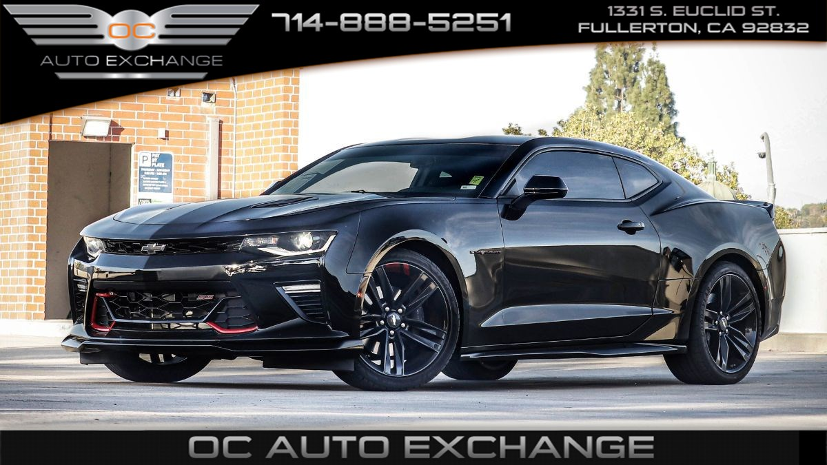 2018 Chevrolet Camaro Coupe 1SS (Redline Edition, Paddle Shifters, Prem Mats)